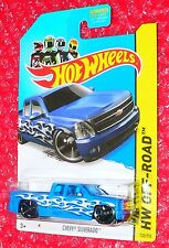 2014  Hot Wheels HW Off-Road   Chevy  Silverado #132  BFD58-09B0C