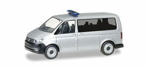 Herpa 012911 Minikit : VW T6 Bus, Argenté Métallique, Modèle Auto 1:87 (H0)