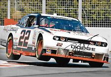 Jacques Villeneuve SIGNED 12x8 NASCAR Penske Racing Dodge , Montreal 2011