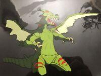 STREET SHARKS Original Authentic Handpainted Animation Cel Alien Dragon Final Ep