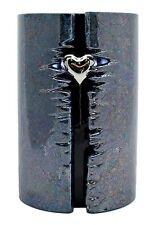 Urna de la cremación-FULL SIZE-Cerámica Corazón envuelto con luces LED