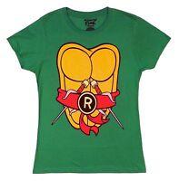 Teenage Mutant Ninja Turtles Ralph Raphael Costume TMNT Junior T-Shirt