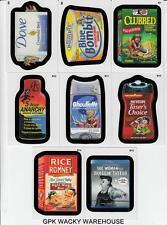 2013 WACKY PACKAGES SERIES 10 EXCLUSIVE BONUS CARDS B7 B8 B9 B10 B11 B12 B13 B14