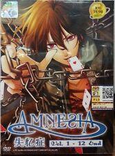 DVD Amnesia ( Vol. 1-12 End ) ENGLISH SUB + Free postage + Free 1 Bonus Anime