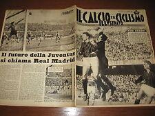 IL CALCIO E CICLISMO ILLUSTRATO 1962/5 ALTAFINI RIVERA MILAN NOVARA CATANIA ROMA