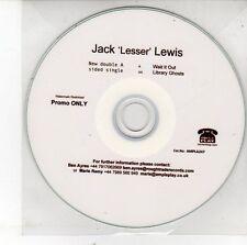 (EH98) Jack 'Lesser' Lewis, Wait It Out - DJ CD
