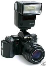 Minolta AF 7000 con Sigma 60/200mm. f4+5,6 e flash