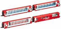 KATO N gauge Alps Glacier Express Add-On 4-Car Set Model Train