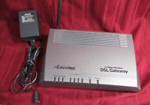 Actiontec GT704WG 54 Mbps 4-Port 10/100 Wireless G Router modem DSL Gateway INTE