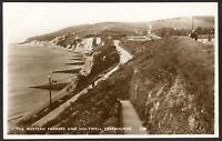 Sussex - Eastbourne - The Western Parades & Holywell - Vintage R.Photo Postcard