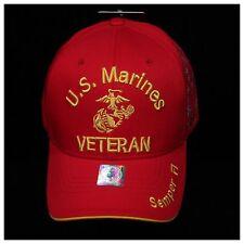 U.S. Marine Corps Cap Navy Veteran Retired Military License Caps Baseball Hat