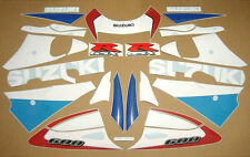 GSXR 600 SRAD 2000 complete decals stickers graphics kit set adhesives adhesivi