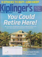 Kiplinger's August 2018 You Could Retire Here!