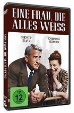 Eine Frau, die alles weiss - Katharine Hepburn - Spencer Tracy - DVD - OVP - NEU