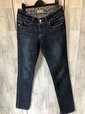 Paige Hidden Hills Blue Skinny Jeans Size 26