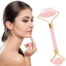 Facial Massage Anti-aging Face SPA Massage Jade Stone Roller Rose Quartz New
