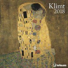 CALENDRIER 2018 - KLIMT Gustav - 30 x 30 cm