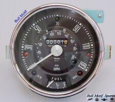 Classic Mini compteur de vitesse-Cooper S Mk2/3 130 MPH (visage noir) 13H4442