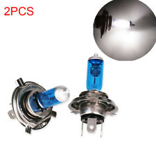 2PCS H4 12V 60/55W Halogen Car Light Bulbs White Light Xenon 5000K Headlight HOT