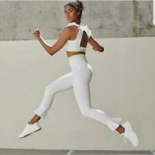 Free People Movement High Rise Sanctuary White Legging Athletic Apparel Size XS