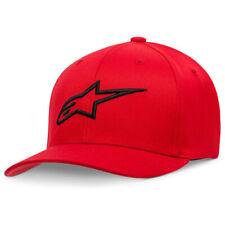 ALPINESTARS AGELESS CURVE FLEXFIT HAT YOUTH KIDS Red/Black AS088110030100