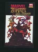 Marvel Zombies Vs Army Of Darkness #3, Arthur Suydam Variant Cover, High Grade