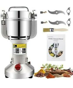 CGOLDENWALL 300g Electric Grain Grinder Mill Safety Upgraded Spice Herb Grind...