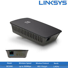 Refurbished Cisco Linksys RE1000 Wireless-N Range Extender Adapter - 2.4GHz