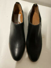 Coach Womens Devin Black Leather Booties Size 8M