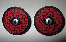27250 Escudo redondo ojo negro y rojo 2u playmobil,shield,medieval,scudo