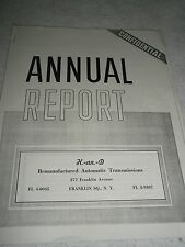 Funny annual company report  novelty item