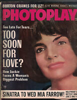 Photoplay Magazine February 1965 Jackie Kennedy Liz Taylor Mia Farrow