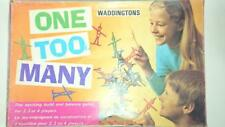 One Too Many - Stacking Skill game 1970 Waddingtons - Made in Australia