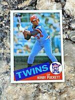 1985 Topps Kirby Puckett #536 Minnesota Twins MLB Baseball Card