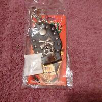Skull Brand Belt Loop Keyholder Fine Pewter(Skull Crossbones)