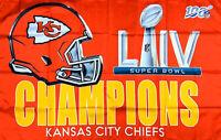 Kansas City Chiefs NFL Super Bowl Championship Flag 3x5 ft Sport Banner Man-Cave