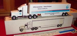 ERTL PPG INDUSTRIES GLASS DIVISION CARLISLE PA. TRACTOR TRAILER