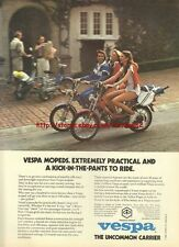 Vespa Moped / Scooter 1980 Magazine Advert #3522