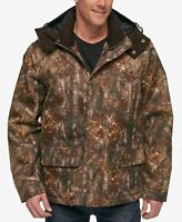 G. H. Bass & Co Realtree Camo Hooded Jacket Coat Hunting Gear NWT $225 Men's XL
