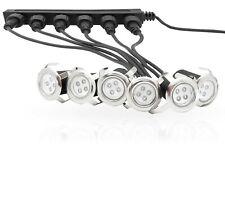 6X LED Einbaustrahler Einfahrt Terrasse Garten Bodenstrahler Bodenlampe Strahler