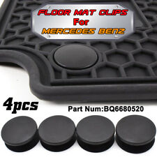 4pcs Car Floor Holders Mat Clips Fixing Grips For Mercedes Benz Carpet Clamps