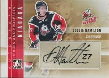 DOUGIE HAMILTON RC AUTO 11-12 ITG HEROES AND PROSPECTS AUTOGRAPH # A-DH 2011-12