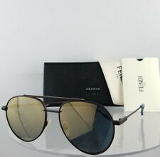 6aa4dfef4d Brand New Authentic Fendi FF 0222 S Sunglasses 09QJO Gold 56mm Frame 0222