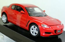 Motormax 1/24 Scale - Mazda RX8 RX-8 RHD Red Diecast model car