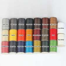 WUTA Hand Stitching Sewing Waxed Thread Leather Craft Cord Set (22 colors) 0.45