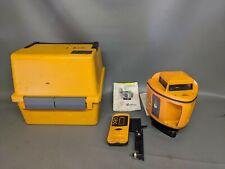 Spectra Precision L600 Laser Level Plane Surveyor With 1275 Lasereye Amp Case Dt