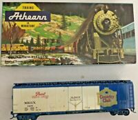 HO scale Athearn Pearl Brewing 50' plug box car built   MKGX 120   vintage