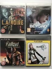 PS3 Game-Beyond:Two Souls+Fallout New Vegas+Final Fantasy XIII+L.A. Noire (940
