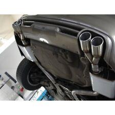 Audi A6 4F Quattro Tubo Finale Destra-Sinistra 2x76mm per Fox Silenziatore