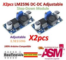 2pcs LM2596 LM2596S DC-DC Adjustable Voltage Regulator Step Down Power Supply